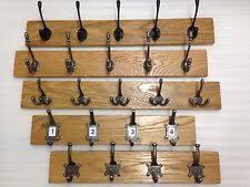 oak coat rack storage solutions ebay