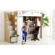 Jyskca NIKA LOFT BedWorkstation Silver Dream Decor - Jysk bunk bed