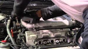1997 honda accord gasket how to change valve cover gaskets honda accord v6 part 1
