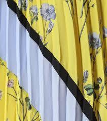 floral printed plissé skirt self portrait mytheresa com