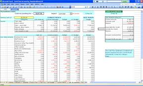 Excel Template Excel Accounting Templates For Small Businesses Wolfskinmall