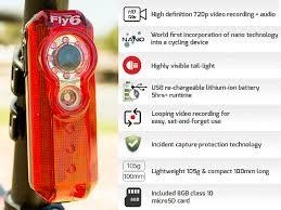 fly bike light camera fly6 rear facing bike light and camera 4 inhabitat green design