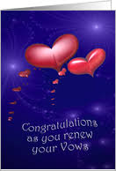 vow renewal cards congratulations vow renewal congratulations cards from greeting card universe