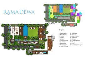 3 Bedroom Villa Floor Plans by Floorplan Villa Ramadewa U2013 Seminyak 3 Bedroom Luxury Villa Bali