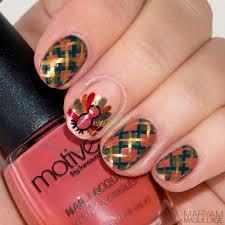 thanksgiving turkey nail art maryam maquillage fall holiday makeup u0026 thanksgiving nail art
