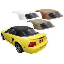 1999 ford mustang convertible top replacement kee auto top mustang cv top w plastic window 1pc vinyl 94 04