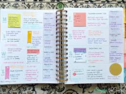 simply in control inkwell press flex planner review