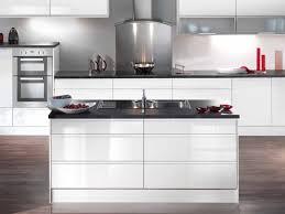 kitchen worktop ideas white gloss kitchen idea black worktops kuchnia