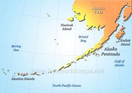 us map of alaska alaska peninsula maps