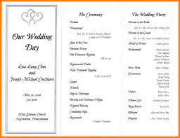 Sample Of Wedding Program Sample Wedding Reception Program Script Philippines Wedding