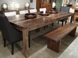 table cuisine bois table cuisine bois chaise massif carrelée et metal eliptyk