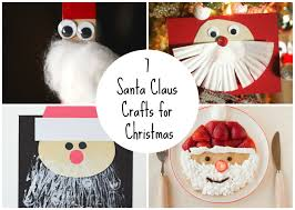 7 santa claus crafts for christmas