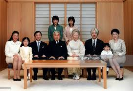 japanese royal family celebrate year at the imperial palace in
