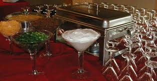 martini bar aila u0027s catering events sample wedding menus