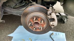 2012 mazda5 brake pad and brake rotor replacement