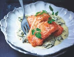 cuisine et vin recette recette saumon à l oseille cuisine et vins de