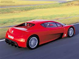 peugeot supercar 2002 peugeot rc concept peugeot supercars net