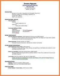 Resume For Artist 5 How To Make Resume For First Job With Example Bussines