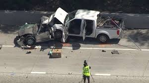 2 children among 4 killed in possible dui crash on 10 fwy in