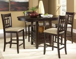 santa rosa oval pub table u0026 24 inch upholstered bar stool set
