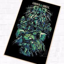 aliexpress buy size 7 10 vintage retro cool men darker ghost in the shell anime sci fi vintage retro