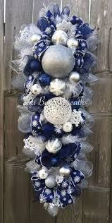 Christmas Decorations Blue Silver And White by 37 Dazzling Blue And Silver Christmas Decorating Ideas Silver