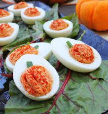 eggs quisite eats for li l devils deviled eggs and pumpkins