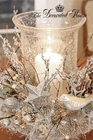 Make Your Own Christmas Centerpiece - 51 exquisite totally white vintage christmas ideas digsdigs