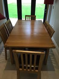 john lewis rectangular 4 6 seater extending dining table in oak