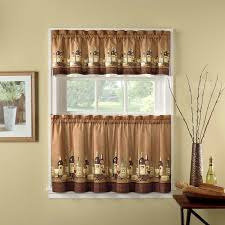 Kitchen Tier Curtains by Better Homes And Gardens Tuscan Retreat Kitchen Curtain Hayneedle