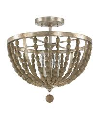 capital lighting 4795 lowell 15 inch wide semi flush mount