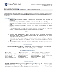 medical billing and coding resume best resumes