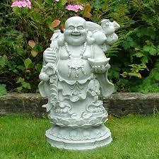 granite standing money buddha statue garden ornament s s shop