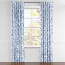 Leopard Curtains Blue Leopard Print Fabric Spot On Azure Loom Decor