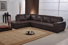 canapé d angle en cuir marron photos canapé d angle cuir marron