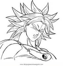 coloring pages coloring pages dragon ball af allcolored