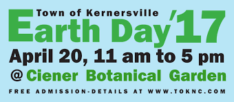 2017 earth day town of kernersville