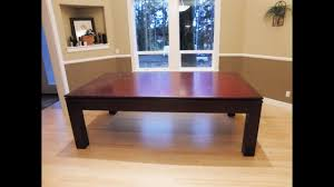 Dining Room Pool Table by Pool Table Dining Table Combo Youtube