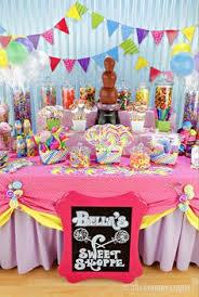 Candy Tables Ideas Cute Chevron Party Ideas Bria Graduation Party Pinterest