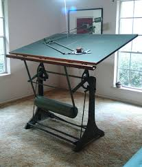 What Is A Drafting Table Antique Franz Kuhlmann Drafting Table And Machine