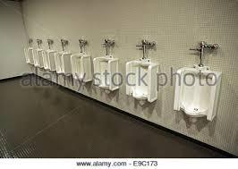 Bathrooms In Nyc Urinals In A Men U0027s Public Bathroom In New York City Stock Photo
