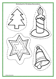 Christmas Worksheets First Grade Art Activity Worksheets Images Reverse Search