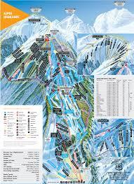 Colorado Ski Resort Map Aspen Highlands Winter Trail Map Aspen Snowmass