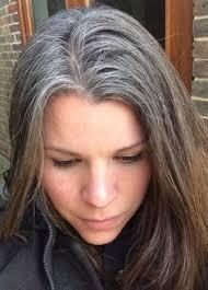 hannah belle gray hair don t care pinterest belle