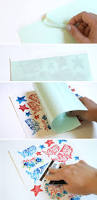 watercolor fourth of july temporary tattoos persia lou