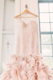 blush wedding dress at carnival themed wedding