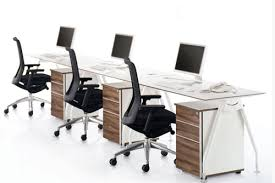 linear crystal line office tables straight linear crystal line