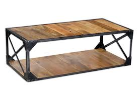 furniture industrial coffee tables ideas dark brown rectangle