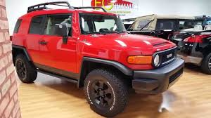 toyota for sale 2012 2012 toyota fj cruiser trail teams edition for sale only 4338
