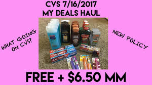 cvs 7 16 2017 my deals haul free 6 50 mm what s up new